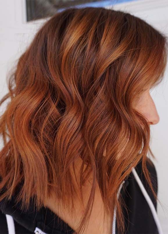 Most Popular Red Copper Hair Color Shades for 2019 | Hair ...