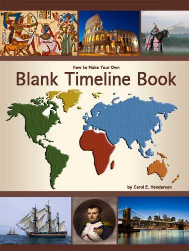 Free Timeline Figures  A Book In Time  Homeschool History