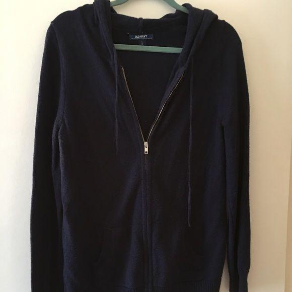 ❤ WEEKEND SALE ❤ Old Navy Blue Knit Sweater Women's navy ...