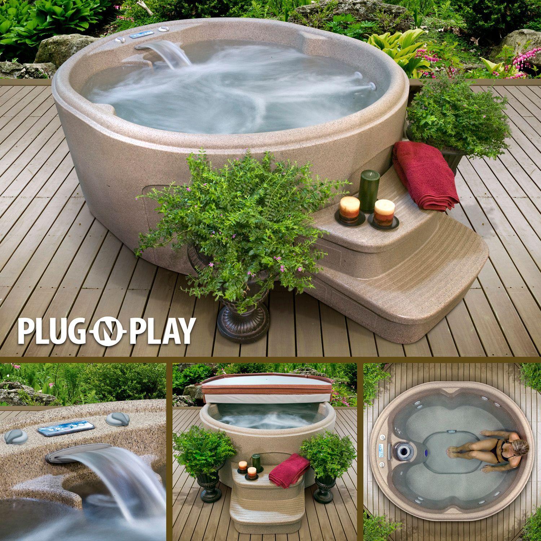 LifeSmart Spa LS100DX Plug U0026 Play Hot Tub(401401530000.17)