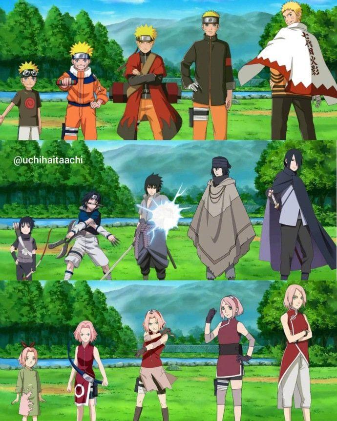 Photo of Japan Anime Naruto Cosplay Costumes Akatsuki Itachi Deidara Tobi Hidan Pein Sasori Cloaks