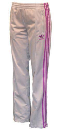 Adidas Originals Women s Firebird Track Pants-Gray purple-XS by Under  Armour. 4d007bf499