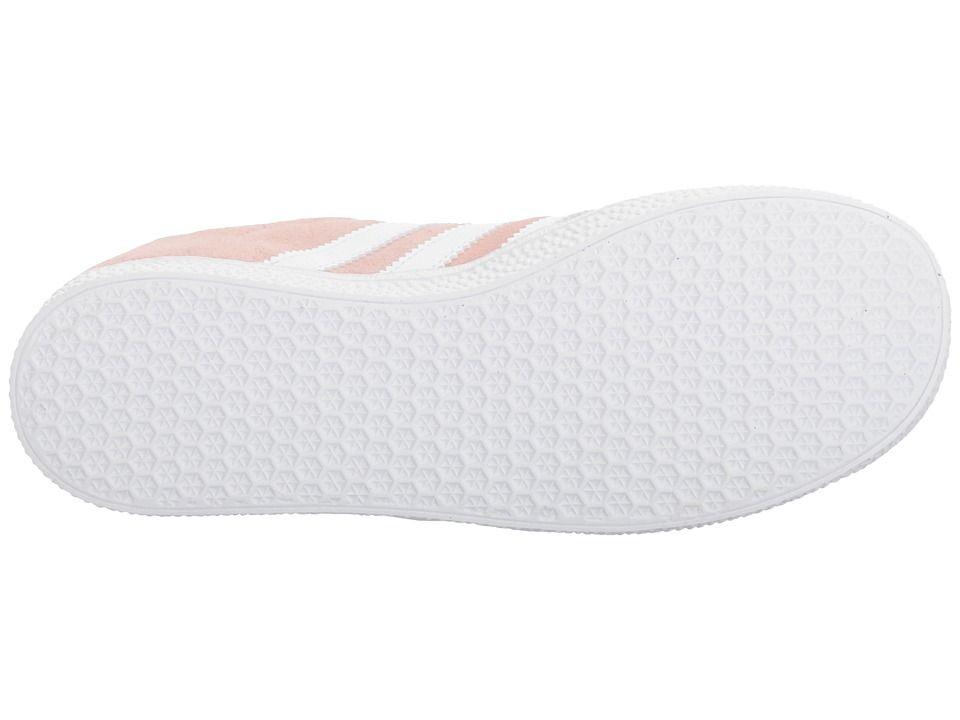 b051bb7c13de adidas Originals Kids Gazelle (Big Kid) Girls Shoes Icy Pink White Gold