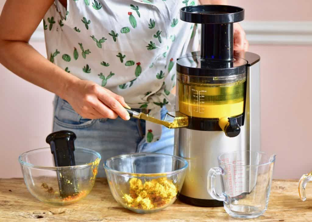 Ginger turmeric immuneboosting energy shots juicer