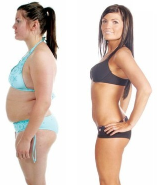 slim lean machine before and after
