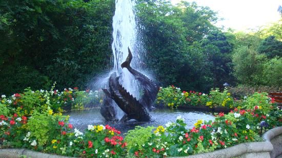 Sturgeon Fountain Butchartgardens Flowers Fountains Statuary Points Of Interest