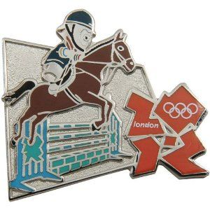 Price: $8.95 - London 2012 Olympics Wenlock Equestrian Pin - TO ORDER, CLICK THE PHOTO