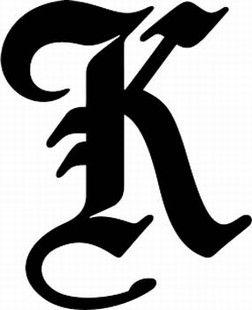 Pin By Shannon Kot On Calligraphy Pinterest Lettering Letter K