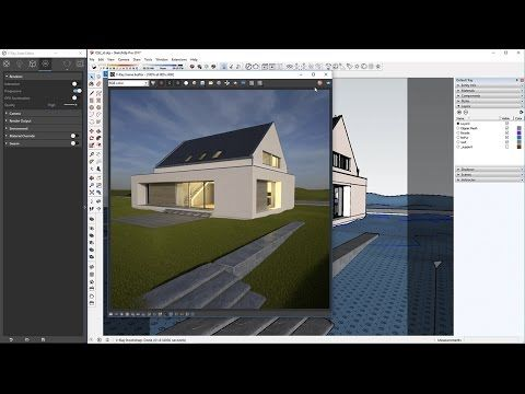 This Video Covers The Basic Workflow Of Rendering A Simple Scene