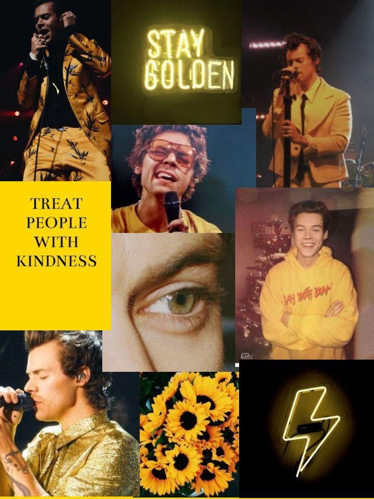 Harry Styles Yellow Aesthetic Yellow Aesthetic Harry Styles Wallpaper Yellow Aesthetic Pastel