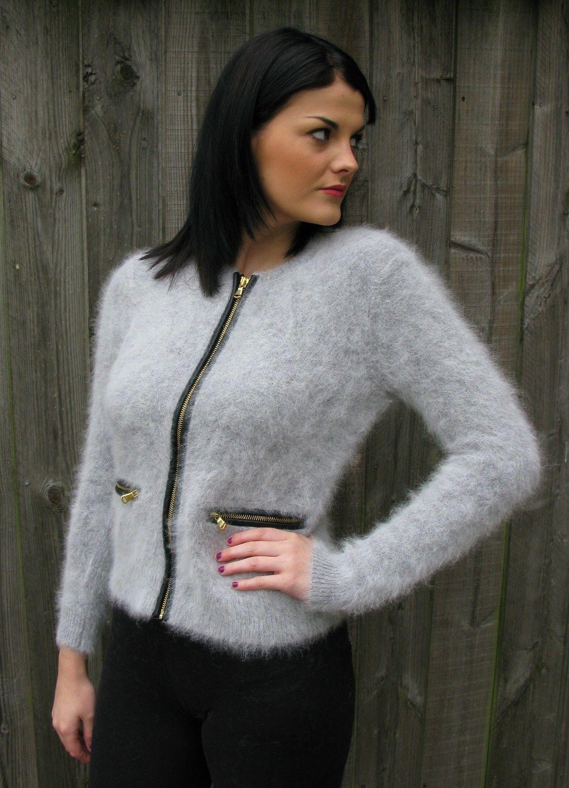 woman's angora sweater | Woman's Fuzzy Sweaters | Pinterest ...