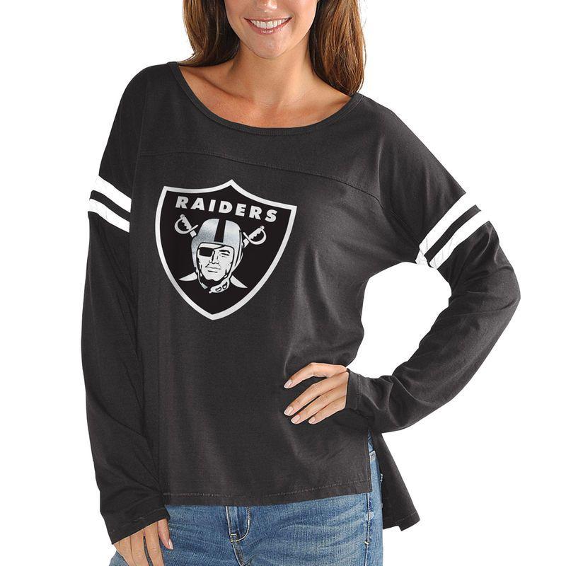 new product e597e f174e Oakland Raiders Touch by Alyssa Milano Women's Plus Size ...