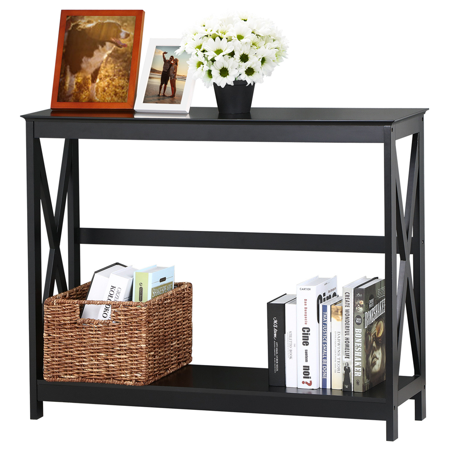 Console Table Modern Accent Side Stand Sofa Entryway Hall Display