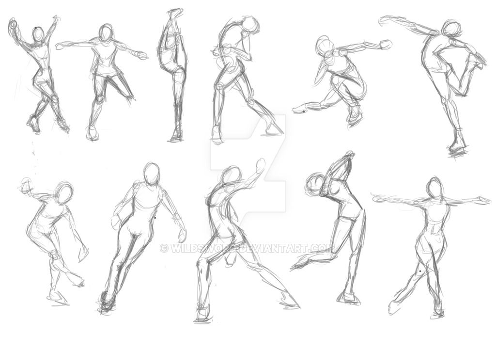 Poses Ice Skating By Wildsword Pose Inspiration Ice Skate Drawing Ice Skating Drawing Poses