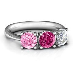 Radiant Trinity Ring #jewlr