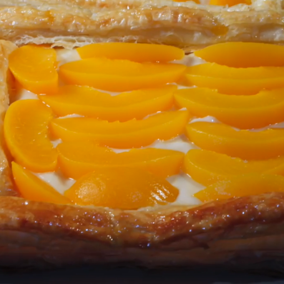 Video Peach Custard Danish Makanan Makanan Enak Makanan Dan Minuman