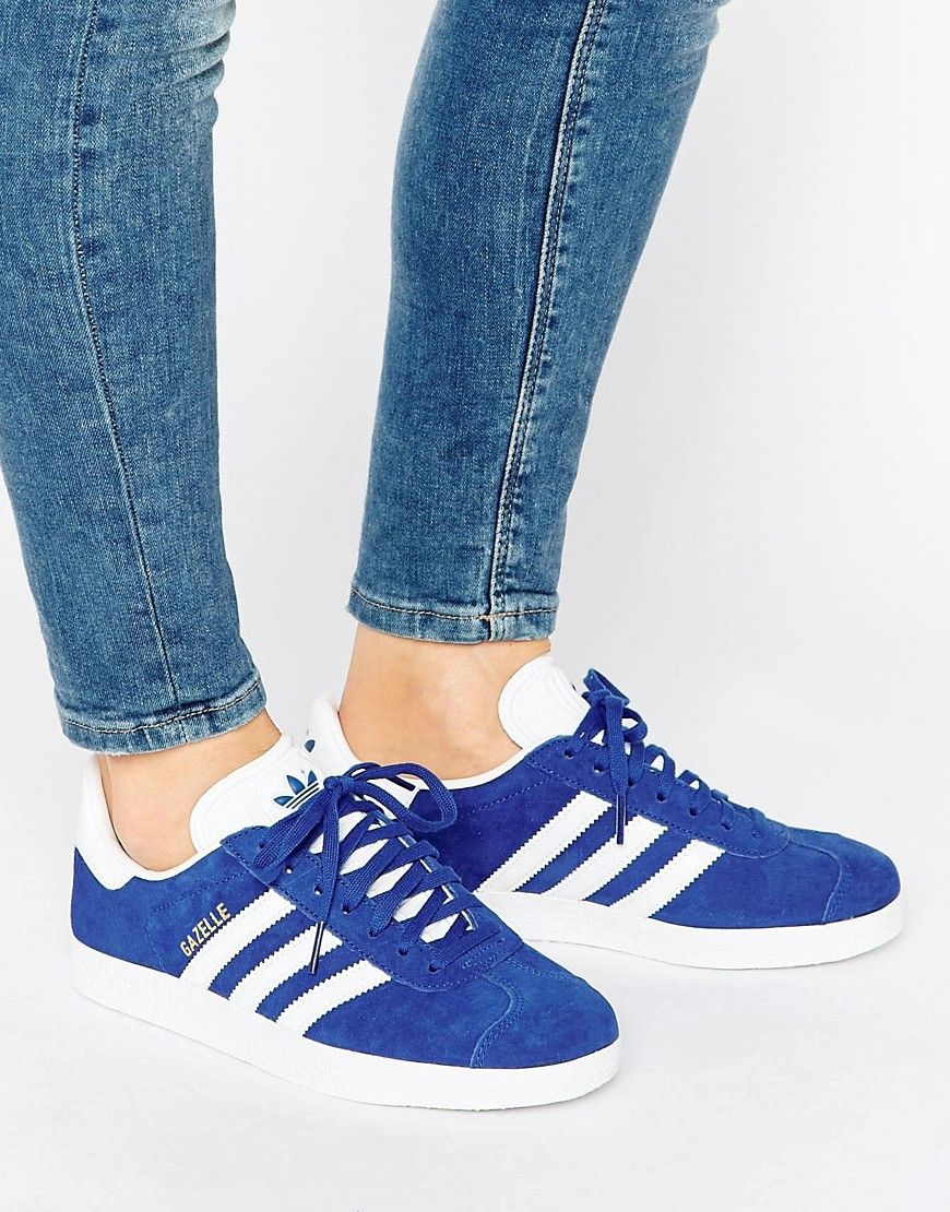 innovative design 94ac9 8a2f3 ADIDAS ORIGINALS ADIDAS ORIGINALS ROYAL BLUE SUEDE GAZELLE UNISEX SNEAKERS  - BLUE.  adidasoriginals  shoes