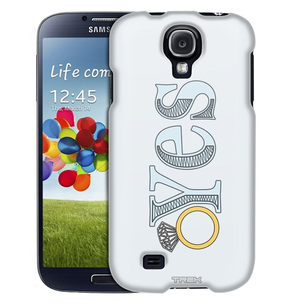 Samsung Galaxy S4 Yes Ring Doodle Trans Case
