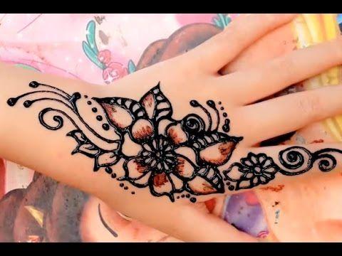 Mehndi Henna Artist Near Me : ᴴᴰ best cute henna art mehndi stylish designs step by