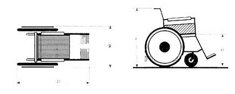 Dimensiones De Una Silla De Rueda Tipo Proyectos Que