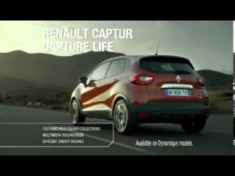 New Renault Captur Tv Ad Featuring New Clio And Zoe New