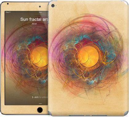 Sun fractal art by JBJart - iPad Skins - $30.00