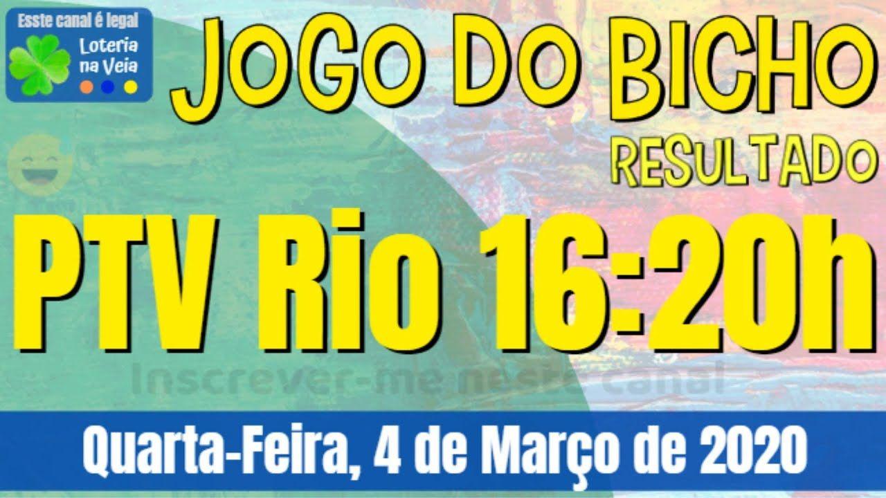 Pt Rj 14 Hs Jogo Do Bicho Resultado De Quinta Feira 30 01 2020 Em