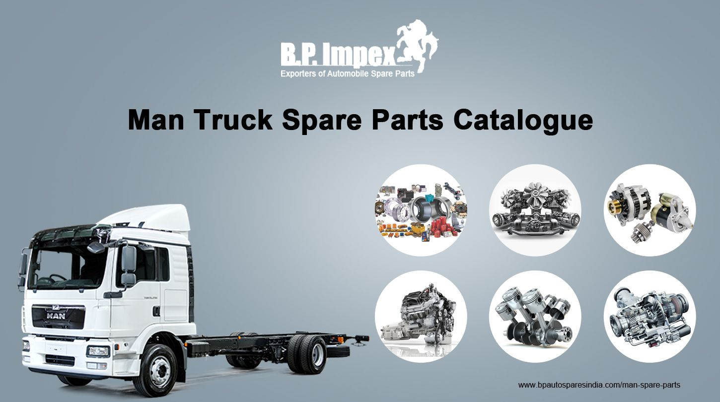 Man Truck Spare Parts Catalogue For BP Auto Spares India