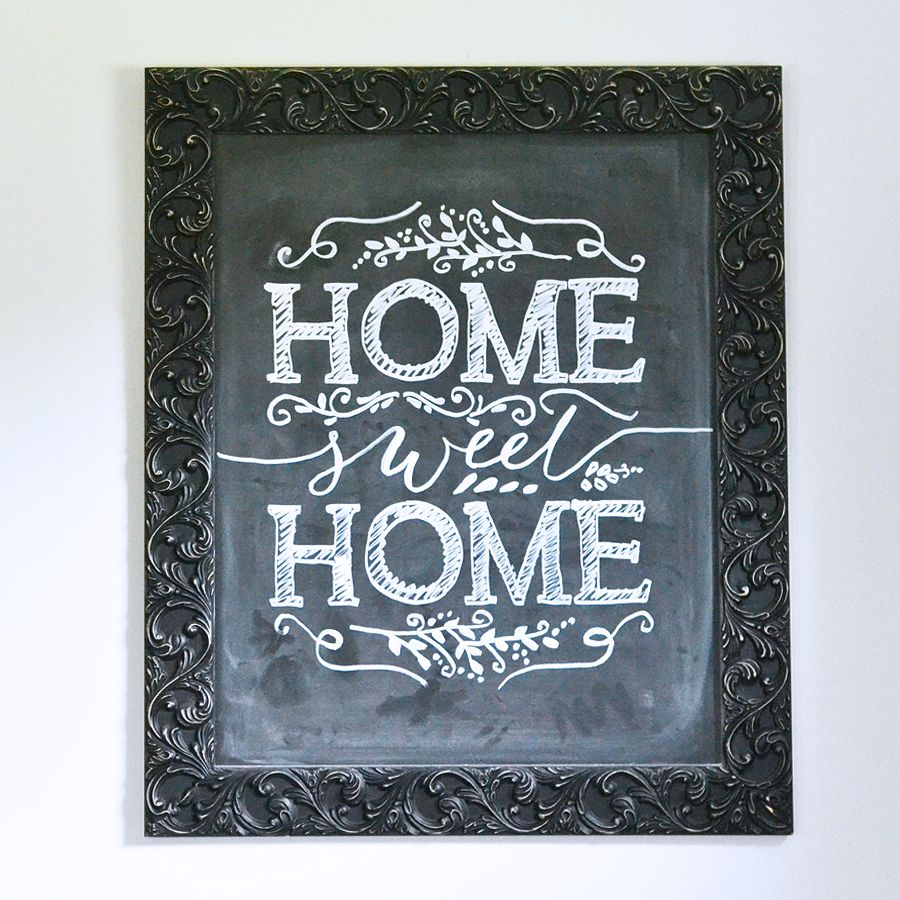 How to make perfect chalkboard art every time - chalkboard tips ...