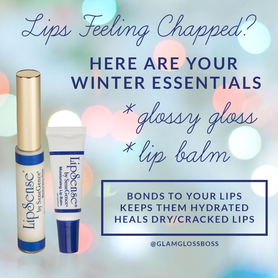 Lipsense Glossy Gloss And Moisturizing Lip Balm Help Heal Your Dry