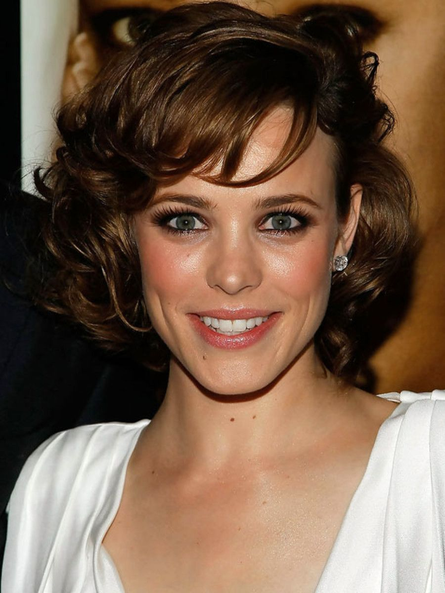 How To Style Curly Hair Without Products Rachel Mcadams Curly And