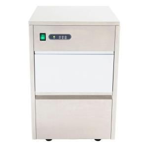 Whynter 44 lb. Freestanding Ice Maker in Stainless Steel FIM-450HS at The Home Depot - Mobile