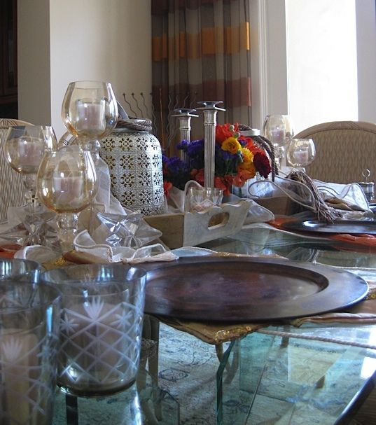Pictures of a Moroccan Party I did!   http://caronhomeec.blogspot.com/2012/05/another-impromptu-party.html