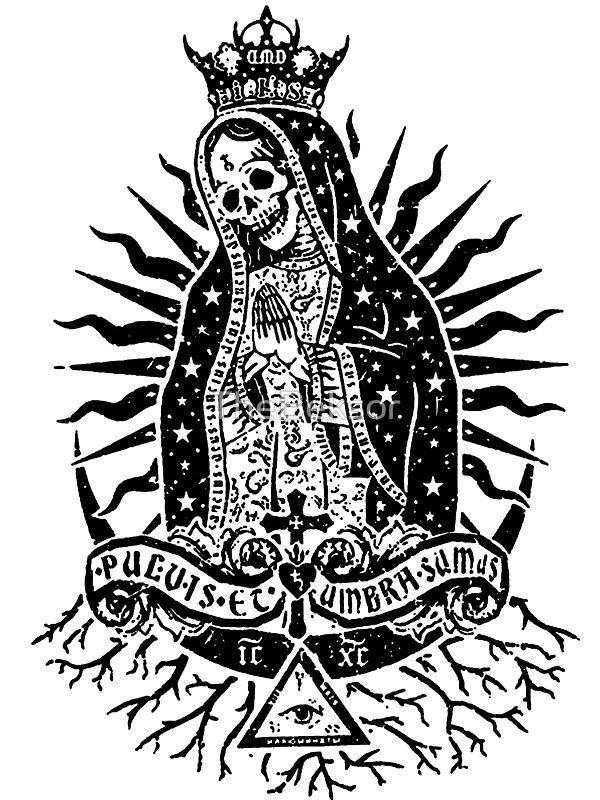La Santa Muerte By Thebeksor Body Art Tattoos Chicano Art Tattoos Dark Tattoo