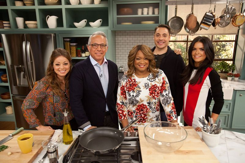 Food Fun And Five Talented Co Hosts Are On The Menu In New