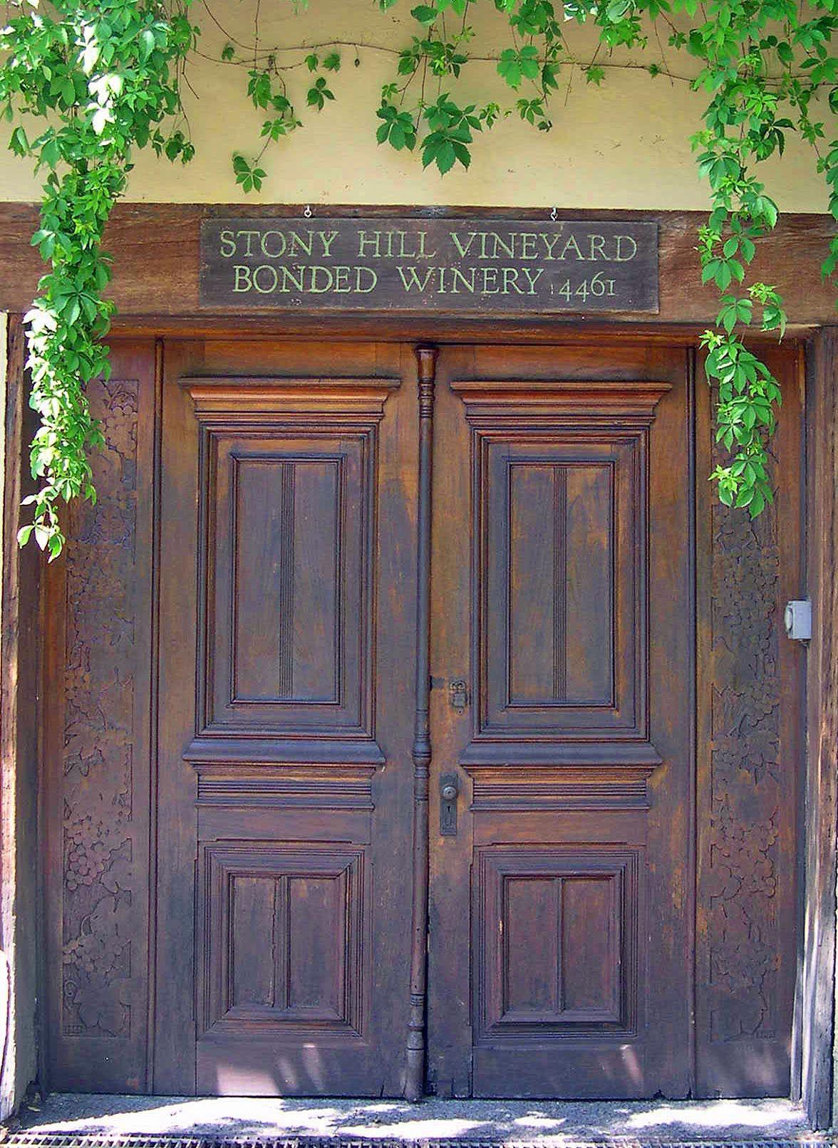 FileWinery Doors of Stony Hill Vineyard.jpg & File:Winery Doors of Stony Hill Vineyard.jpg | Winery Finery ...