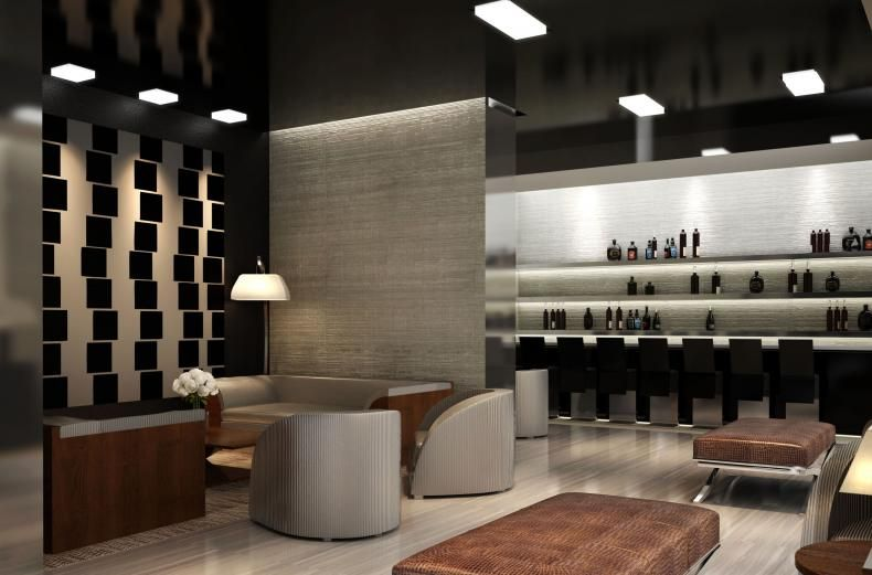 Armani modern cigar lounge | Cigars & Spaces | Pinterest | Cigar ...