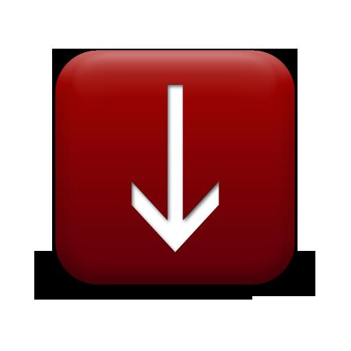 Simple Down Arrow Icon #128433 » Icons Etc