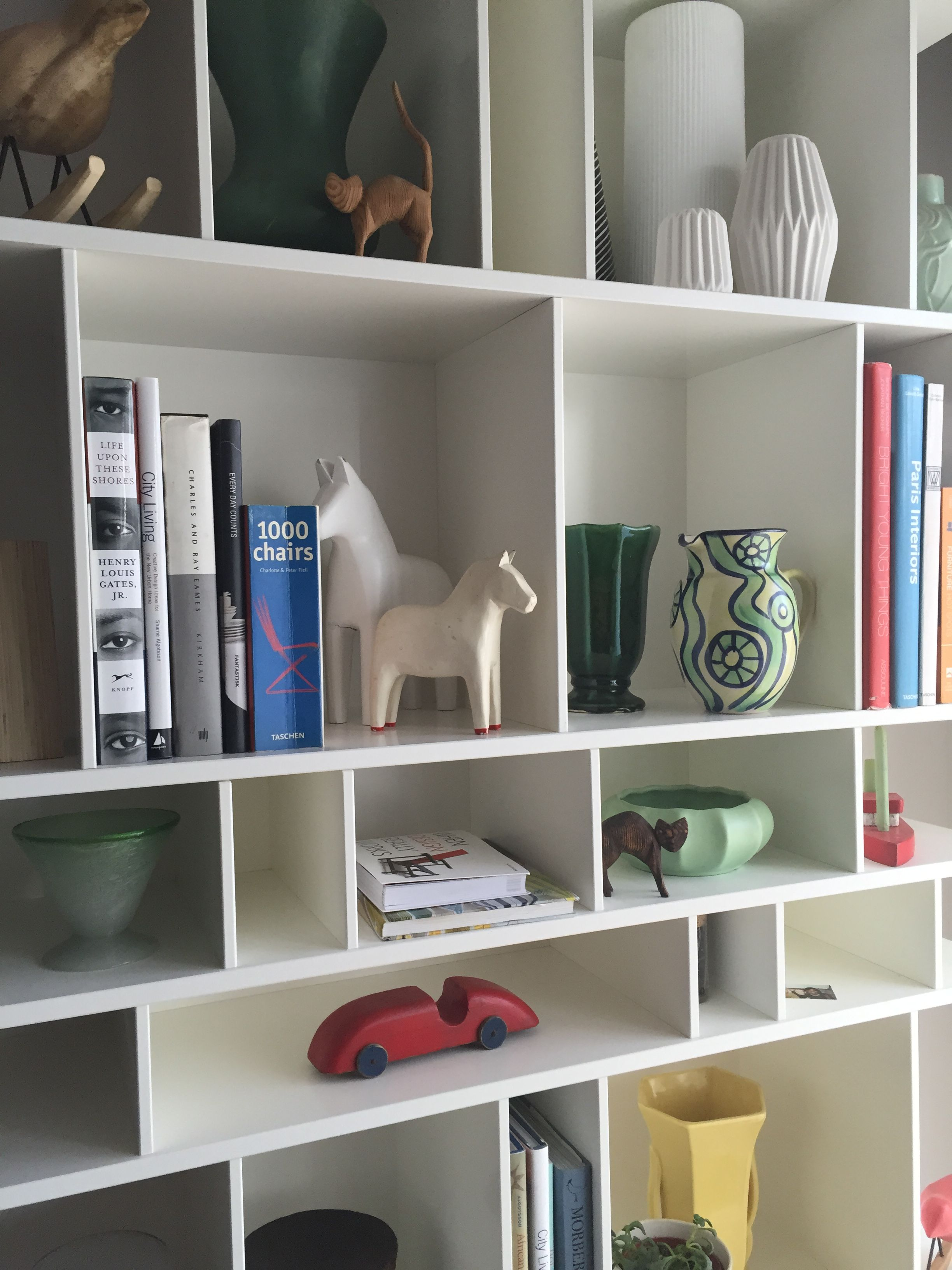 Boconcept Bookcase: Love My BoConcept Como Wall Shelf. Everything Looks Great