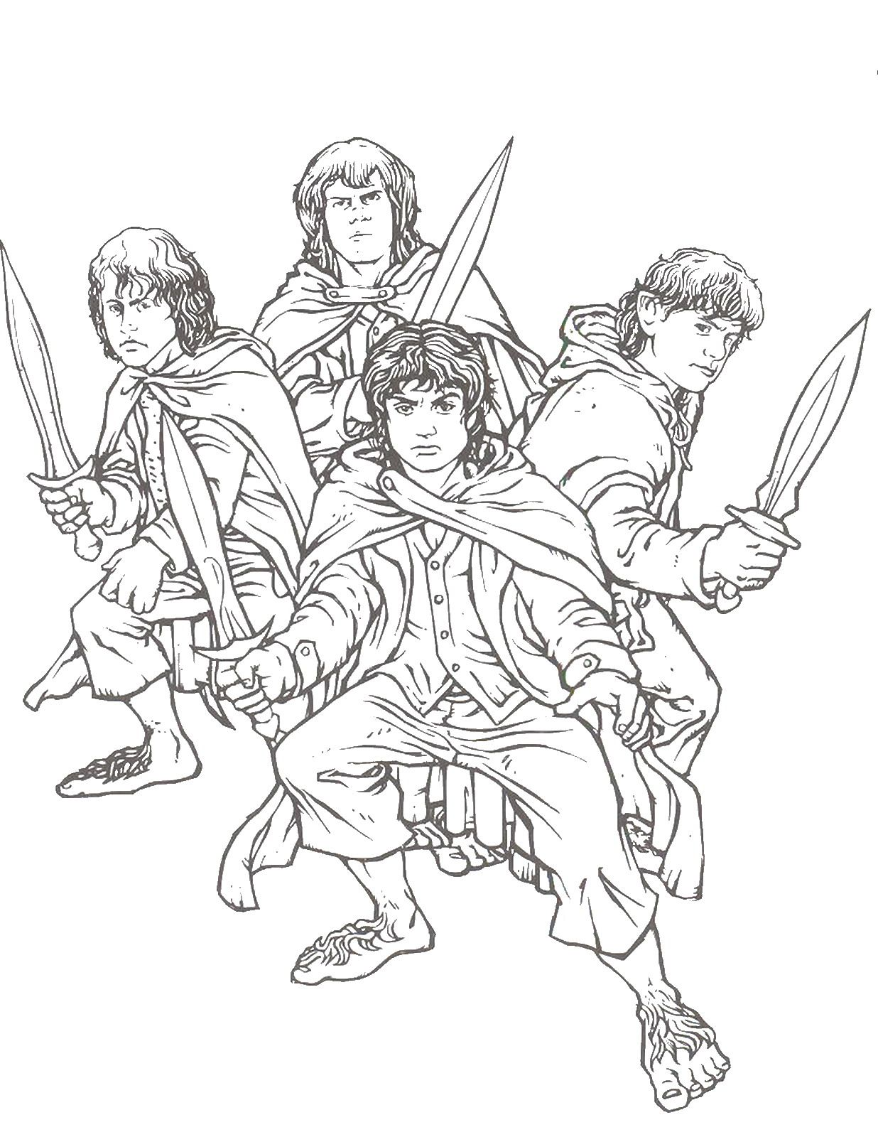 Lord Of The Rings Coloring Pages: More From This Site Sinbad ...