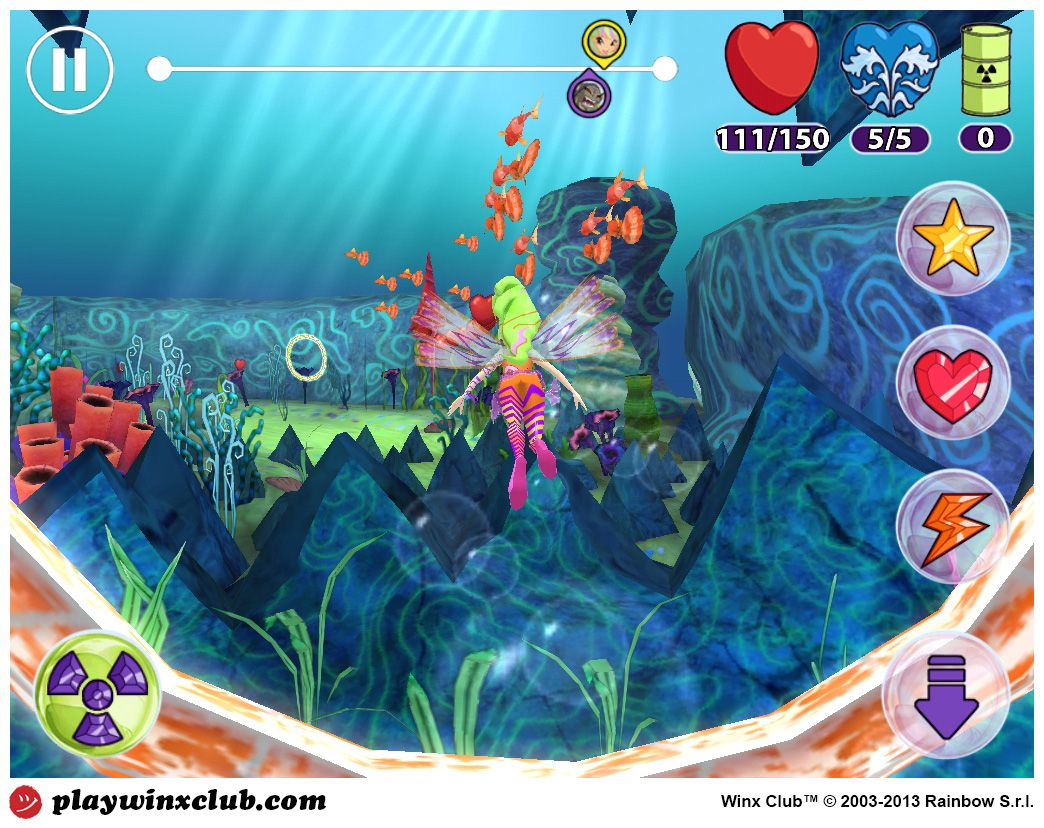Winx Sirenix Power Download the game today, it is FREE to