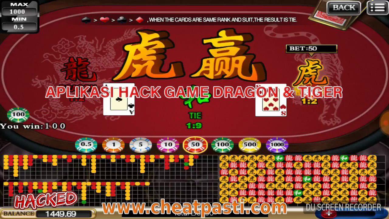 Aplikasi Hack Game Dragon Tiger Dragon Tiger Gaming Tips Tiger Video