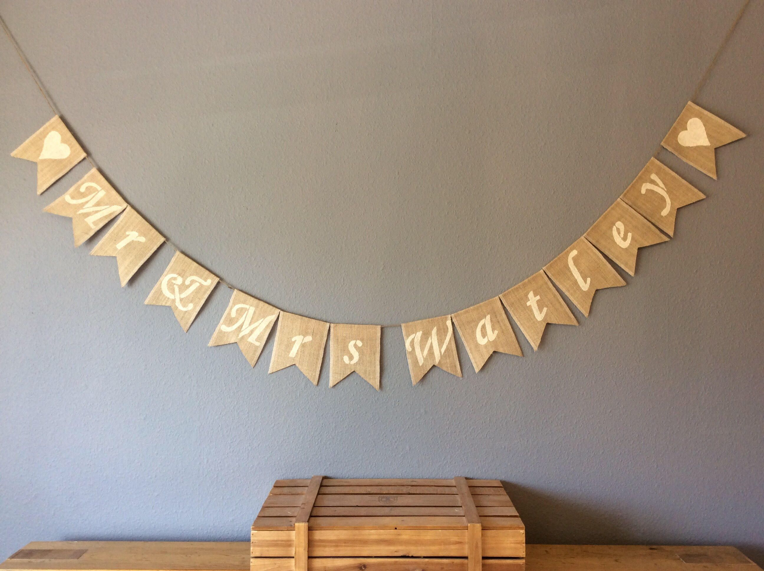 A Personal Favourite From My Etsy Https Www Bunting Banner Buntingsbannerswedding