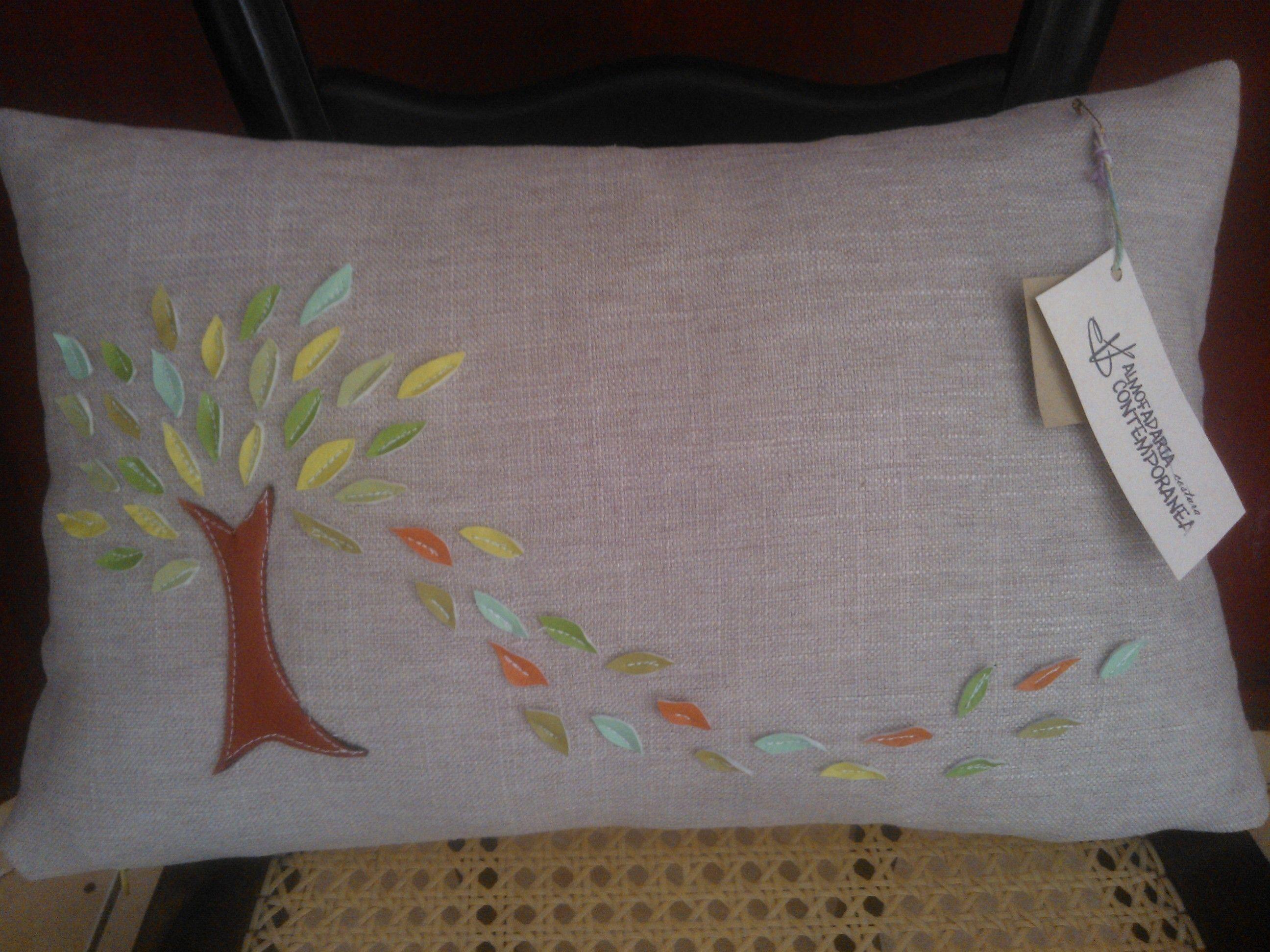 Almofada Árvore da Vida #pillow #almofada