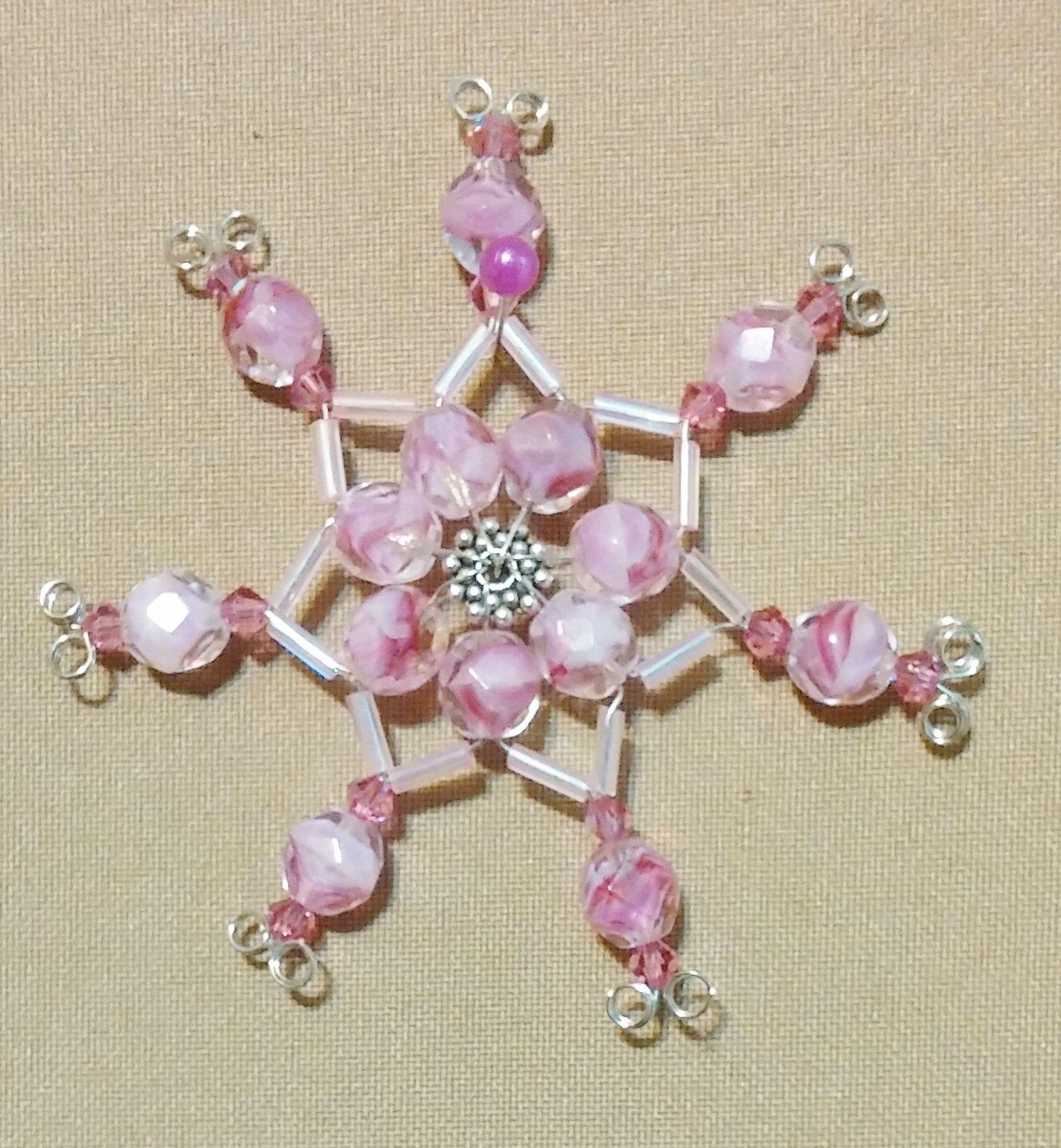 Handmade small Christmas Star.