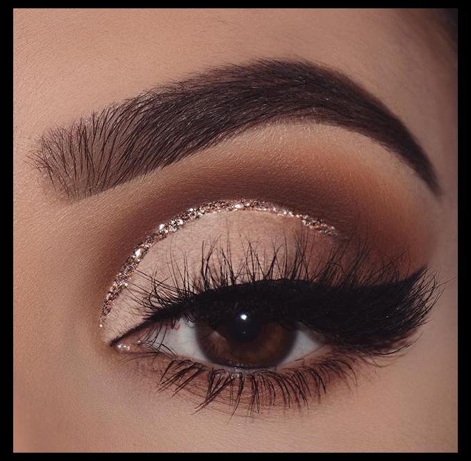 brown makeup palette eyeshadow