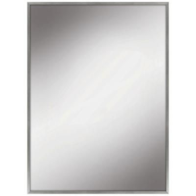 Home Decorators Collection 22 In W X 28 In L Framed Fog Free Wall Mirror In Silver 81168 Framed Mirror Wall Frames On Wall Mirror Wall