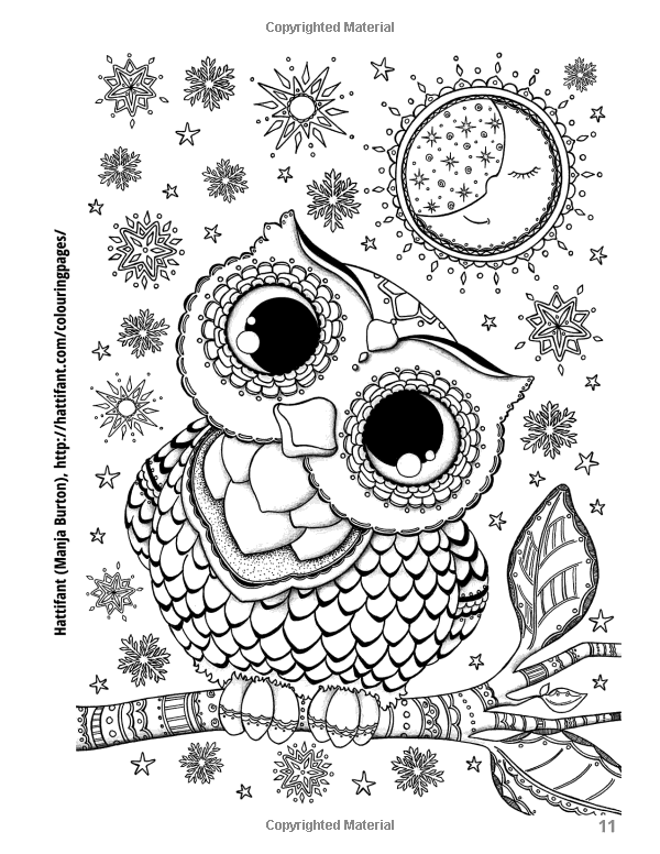 Amazon Adult Coloring Book Treasury 110 Illustrations From 55 Artists 9781944845049