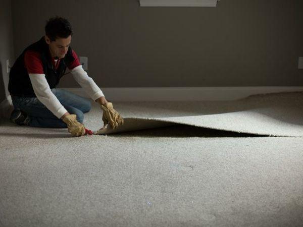 Nice Teppichboden Entfernen Materialien Streifen Messer Schneiden