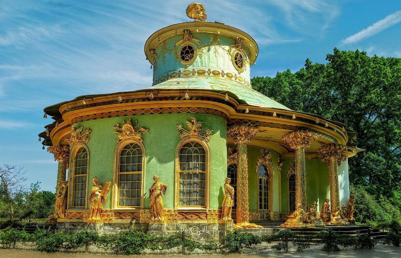 Park Sanssouci Chinese House By Pingallery On Deviantart Architecture Exterior Unique Buildings House